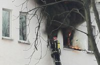 В общежитии Киевского университета строительства и архитектуры произошел пожар