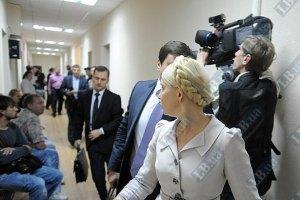 Тимошенко продолжат судить в понедельник