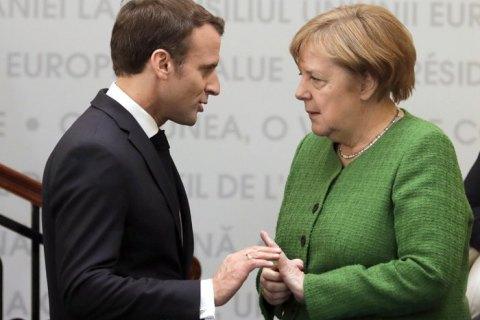 Меркель зявила про незгоду з Макроном щодо НАТО