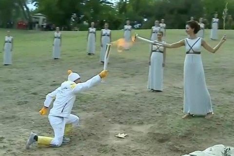 В Греции зажжен огонь Олимпиады-2018