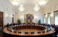 Украинские санкции против России переданы на утверждение СНБО