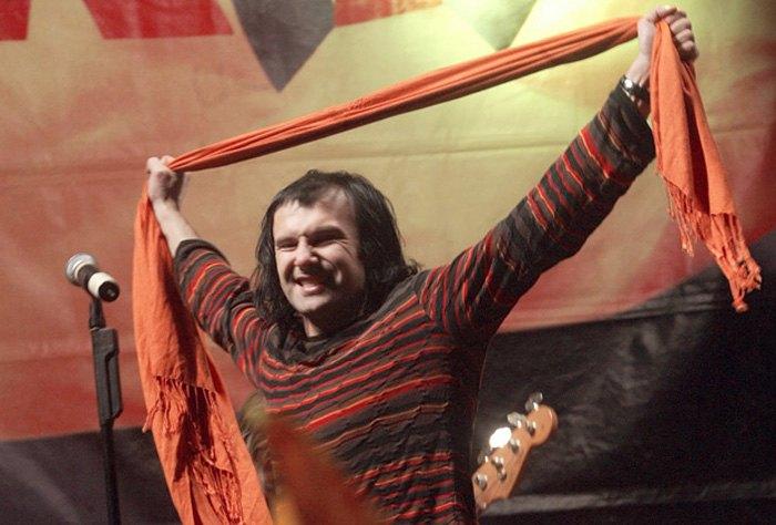Вакарчук на сцене Оранжевой революции