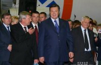 Янукович запустил завод по утилизации аккумуляторов в Днепропетровске