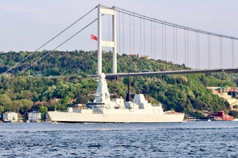 Кораблі військово-морської групи НАТО увійшли в Чорне море