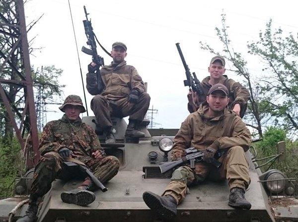 Спецназначенцы ГРУ со спецоружием