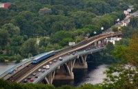В Киеве в сентябре начнется капремонт моста Метро через Русановский пролив