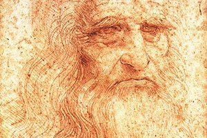 """Учені: автопортрет Леонардо да Вінчі """"захворів"""" на кір"""