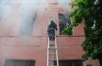 В Николаеве произошел масштабный пожар в психиатрической больнице
