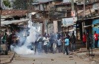11 человек убиты в Кении в ходе протестов из-за переизбрания президента Кениаты