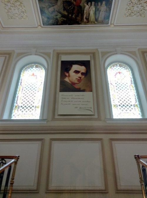 Інтер`єр Національного музею Т. Шевченка