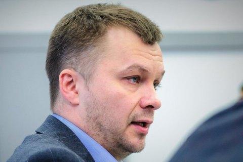 """Милованов отказался общаться с журналистами, ссылаясь на """"отсутствие иммунитета после операции"""""""