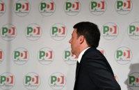 Колишній прем'єр Італії Ренці вирішив піти з посади голови Демократичної партії після поразки на виборах