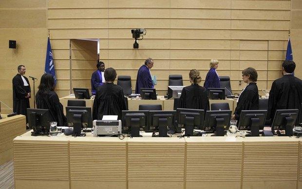 Судьи Международного уголовного суда перед вынесением приговора