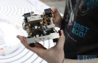 В Киеве соревновались роботы