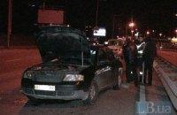 ДТП у Києві: мікроавтобус вм'яв багажник Audi A6 у салон