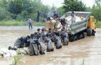 МЧСНики борятся с потопом
