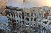 Суд Одеси арештував вилучене майно згорілого коледжу