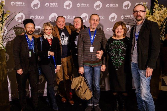 """Команда фільму """"Брама"""" на кінофестивалі в Таллінні"""
