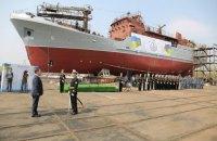 Для ВМСУ на базе рыболовного траулера построили разведывательный корабль