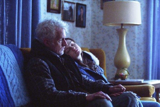 "Кадр из фильма ""Голубая пташка"""