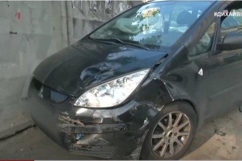 """В центре Киева пьяный водитель Porsche устроил ДТП, пострадала ведущая """"5 канала"""""""