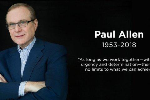 Умер сооснователь Microsoft Пол Аллен