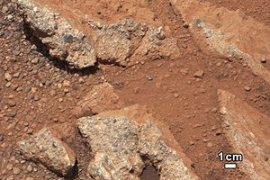 Curiosity нашел на Марсе земной грунт