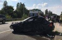 Автомобиль из кортежа бизнесмена Дыминского попал в смертельное ДТП