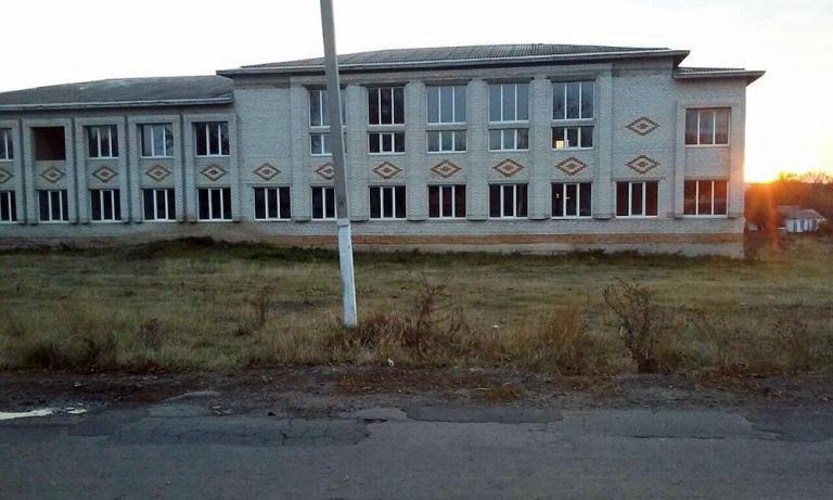 Недобудована школа у Гопчиці