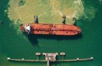 В Украину пришел первый танкер с азербайджанской нефтью для Беларуси