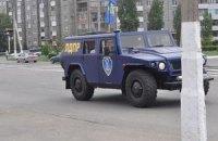 Військовий джип Жириновського прорвався через кордон у Луганську область