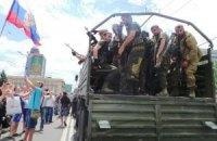 У Горлівці перекинувся КамАЗ із терористами