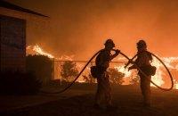 Лісові пожежі в Каліфорнії визнали наймасштабнішими за всю історію спостережень