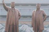 Самый большой в КНДР памятник Ким Чен Иру открыли в Пхеньяне
