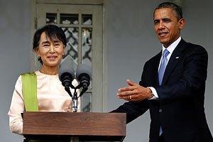 Обама і лідер м'янманської опозиції вимагають зміни конституції Бірми