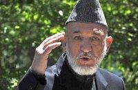 Карзай приостановил переговоры по соглашению о безопасности с США
