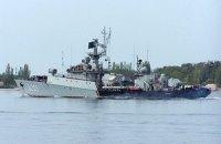 """Российские военные забрасывают боевыми гранатами территорию вокруг корвета """"Тернополь"""" в Севастополе"""