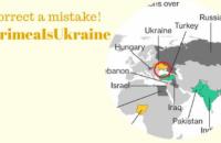 """Посольство у США закликало Bloomberg виправити карту з """"російським"""" Кримом (оновлено)"""