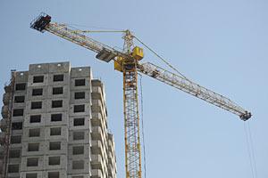 Количество выполненных стройработ в I квартале увеличилось на 6,8%
