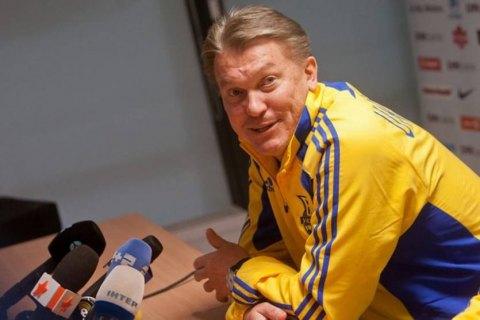Олег Блохин был доставлен на финал Лиги Европы в инвалидной коляске