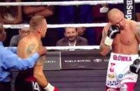Скандально завершился полуфинальный бой WBSS между бывшими соперниками Усика
