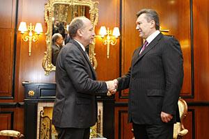 Янукович очень ценит украино-литовские отношения