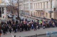 Участники митинга у Рады пожаловались в полицию, что им не заплатили
