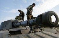 На окраине Гранитного замечен сепаратистский танк