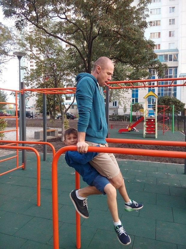 Син та чоловік Юлії Тихончук