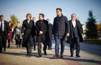 Президент і перша леді відвідали Шевченківський центр у Каневі