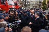 Системой лизинга на покупку жилья на первом этапе смогут воспользоваться 4 тысячи спасателей и полицейских, - Яценюк