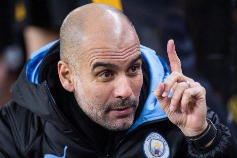 """Гвардиола прокомментировал отстранение """"Манчестер Сити"""" от еврокубков"""