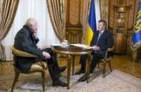 Янукович дав інтерв'ю