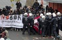 В Кельне произошли стычки с полицией из-за съезда правой партии AfD